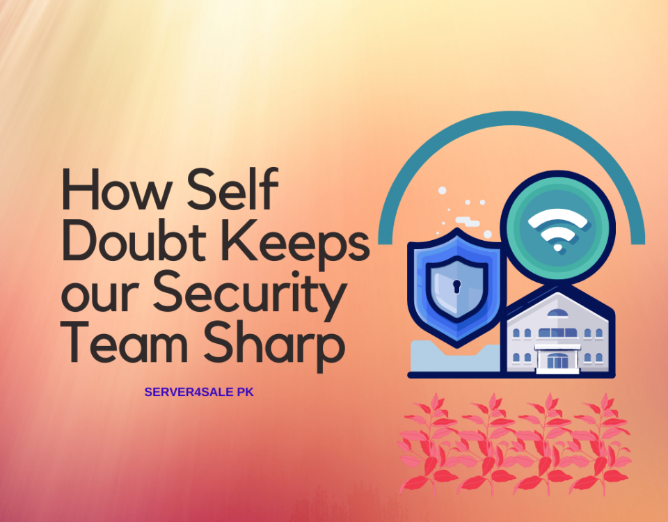 How Self Doubt Keeps our Security Team Sharp